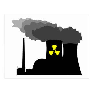 Energía atómica tarjetas postales