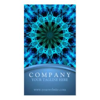 Energía azul tarjetas de visita