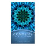 Energía azul tarjetas de negocios