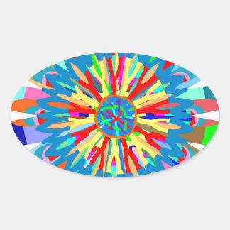 Energía curativa del color: Inspiración del Calcomanía De Oval