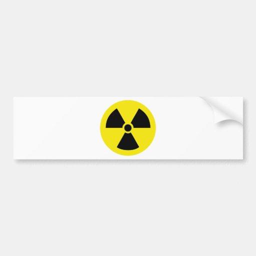 energía de átomo activa de radio pegatina para auto