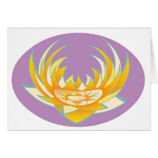 Energía de Goodluck HolyPurple Lotus Tarjetas