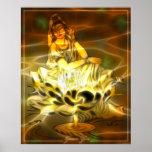 Energía de Guan Yin Póster