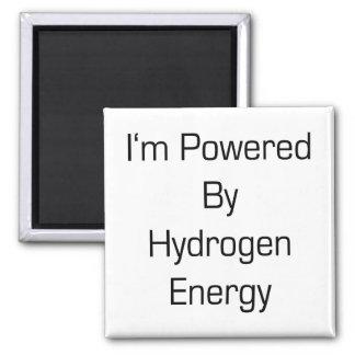 Energía de hidrógeno me acciono imán cuadrado