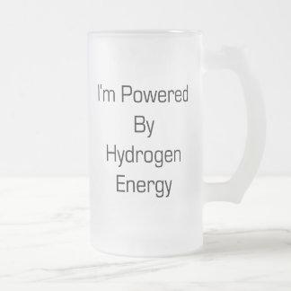 Energía de hidrógeno me acciono taza de café