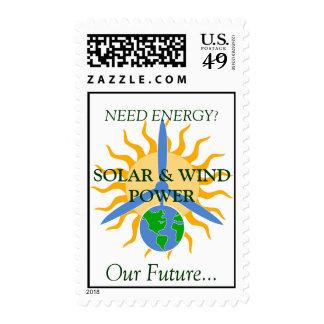 ¿ENERGÍA de la Sello-NECESIDAD? SOLAR Y VIENTO POW