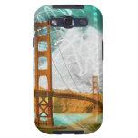 energía de puente Golden Gate del vintage en San F Galaxy SIII Protectores