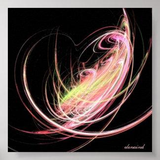 Energía del amor póster