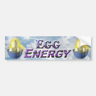 Energía del huevo - pegatina para el parachoques pegatina para auto