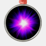 Energía divina del reiki curativo púrpura de la ornamentos de reyes magos