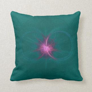 Energía en almohadas esmeralda