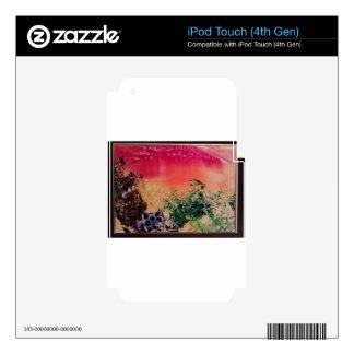 Energía en las piedras calcomanías para iPod touch 4G