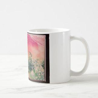 Energía en las piedras taza básica blanca