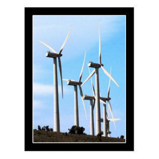 Energía eólica (2) tarjeta postal