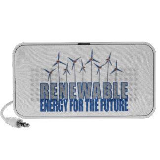 Energía eólica altavoces de viaje