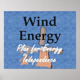 Energía eólica de la CAMISETA Impresiones