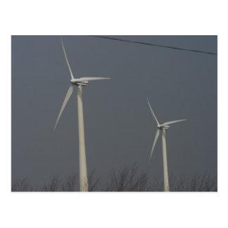 Energía eólica en Minnesota y Dakota del Sur Postales
