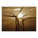 Energía eólica felicitación