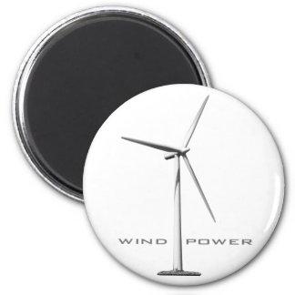 Energía eólica imán redondo 5 cm