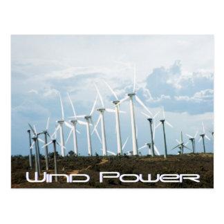 Energía eólica postal