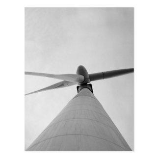 Energía eólica postales