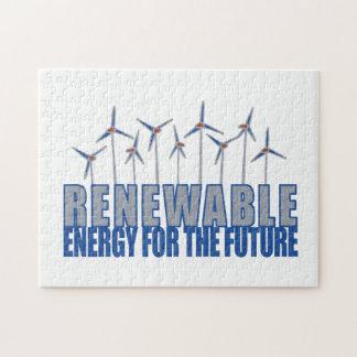 Energía eólica puzzle