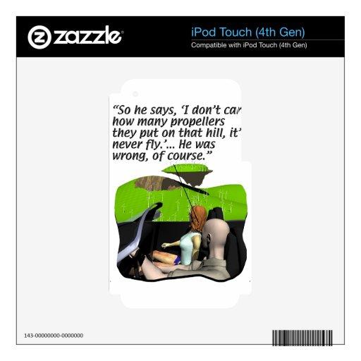 Energía - generación - molinoes de viento iPod touch 4G skins