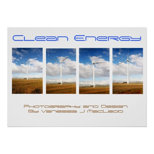 Energía limpia II Póster