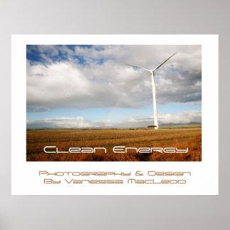 Energía limpia III Póster