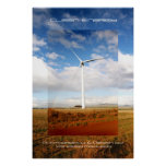 Energía limpia poster