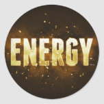 Energía Pegatina