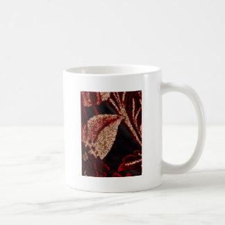 Energía positiva - decoraciones de la hoja de oro taza de café