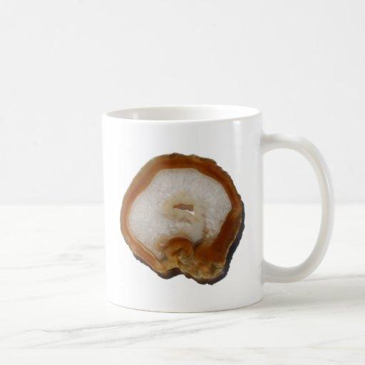 Energía preciosa del positivo de la ágata tazas de café