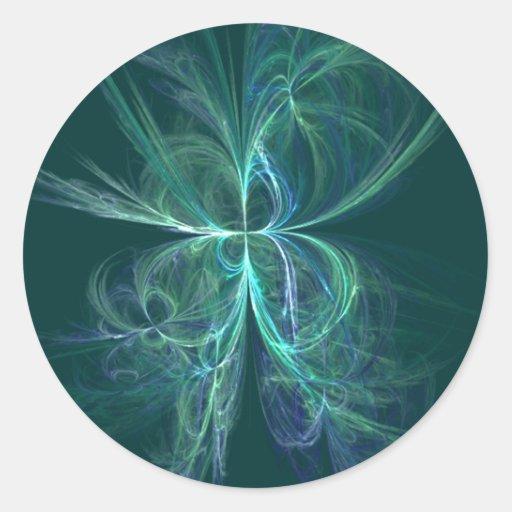 Energía psíquica pegatinas redondas