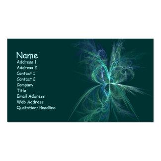 Energía psíquica tarjeta de negocio