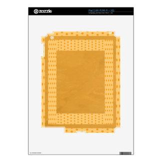 Energía pura del oro - compra para el texto de la  skin para el iPad 2