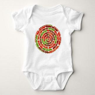 Energía que cura Chakra - diseños futuristas Body Para Bebé