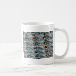 Energía rara triangular calmante de la perla tazas de café