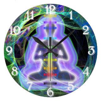 Energía Reloj Redondo Grande