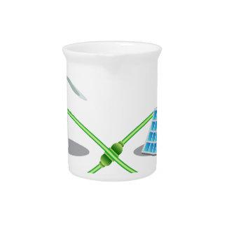 Energía renovable infinita jarras de beber