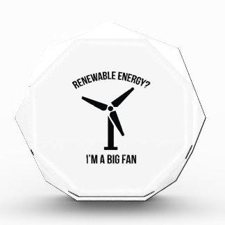 ¿Energía renovable? Soy un fan grande