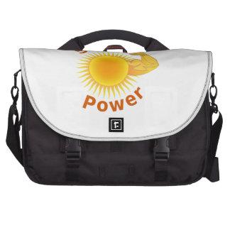 Energía solar bolsas para portátil