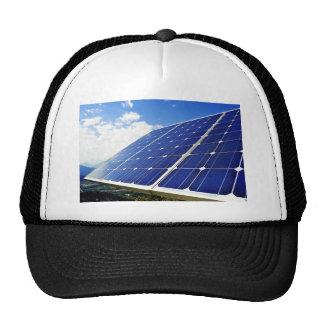Energía solar de la energía verde gorros bordados