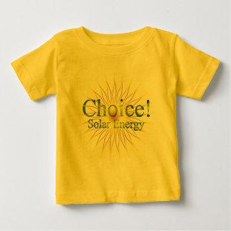 Energía solar de la opción de T18a T-shirt