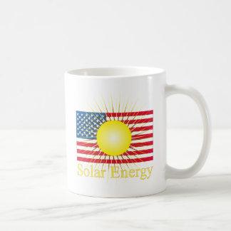 Energía solar de T14a Taza Básica Blanca