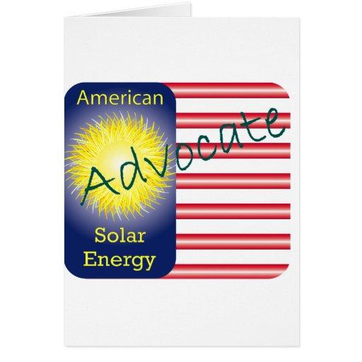 Energía solar del americano del abogado de T44a Tarjeton