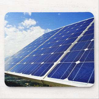 Energía solar - energía verde Mousepad Tapete De Ratón