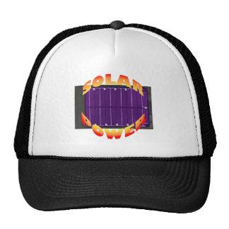 energía solar gorras de camionero