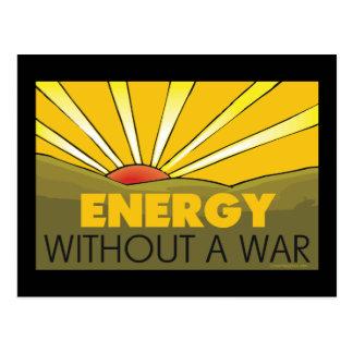 Energía solar, guerra tarjetas postales