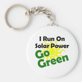 energía solar llavero redondo tipo pin